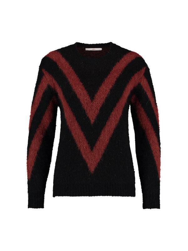 Aaiko Spigaman Sweater Black