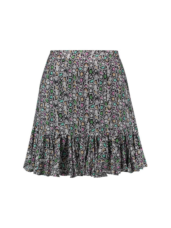 Aaiko Skirt Sillo Crocus Multicolor