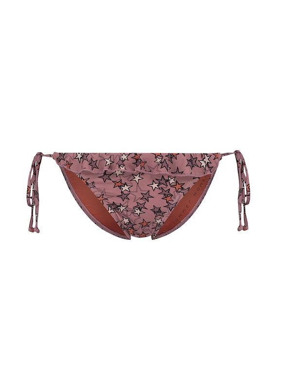 Melt Nomads Star Brief String Rose Bikini