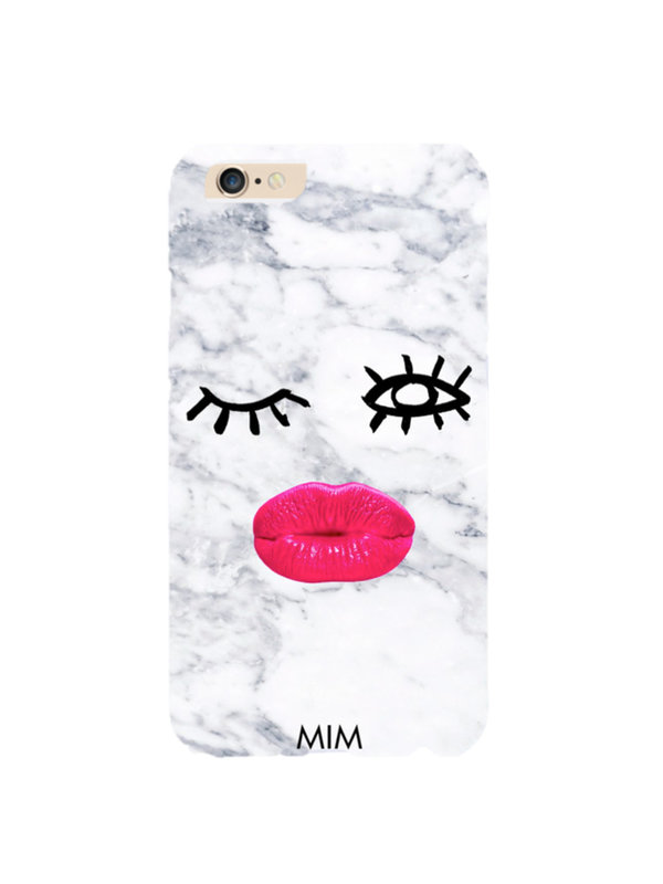 Mim Marble Kiss Phone Case