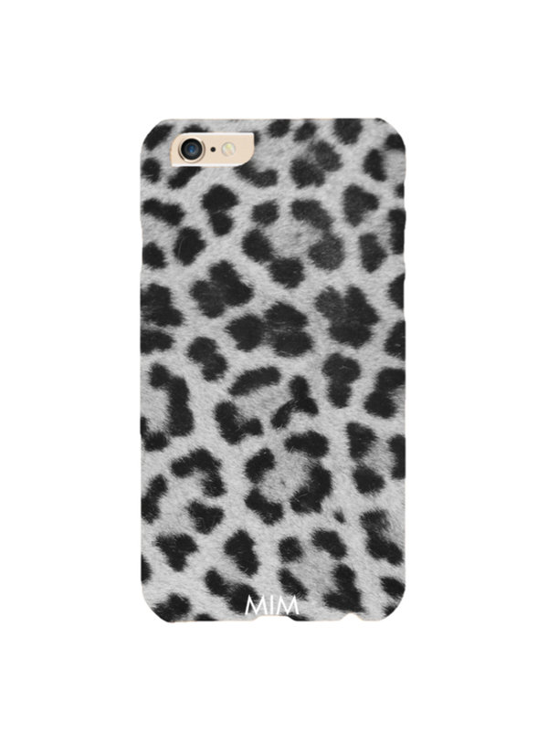 Grey Leopard Phone Case