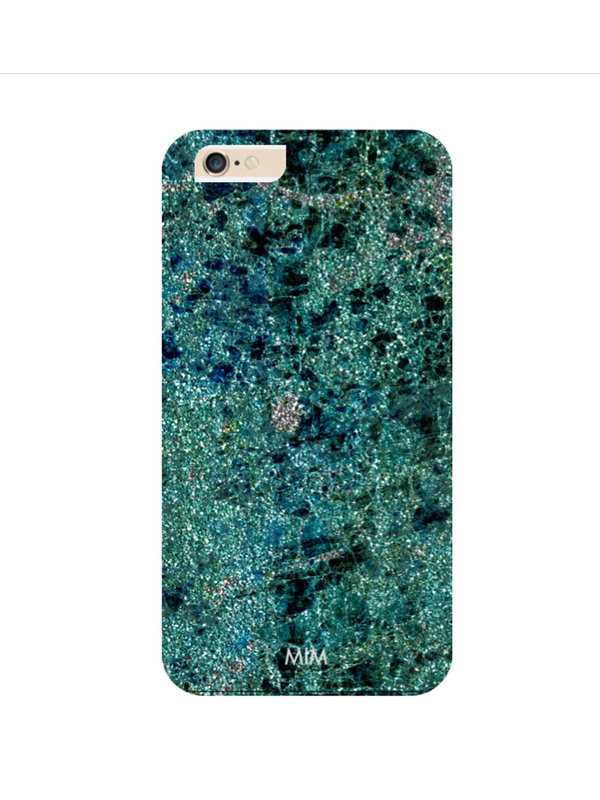 Green Sparkles Phone Case