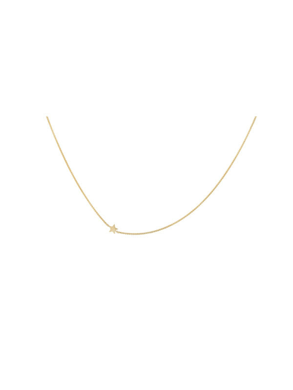 Anna + Nina Stellar Necklace Short Gold
