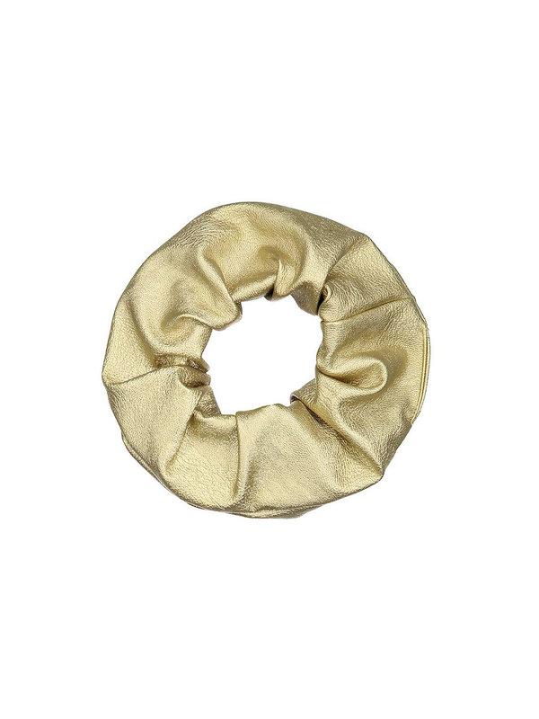 Atelier Des Femmes Scrunchie Gold