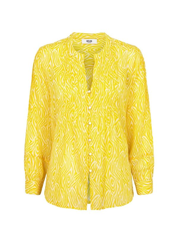 Moliin Mitsy Blouse Top Yellow