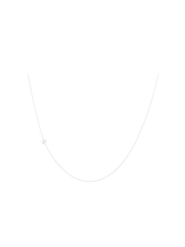 Anna + Nina Stellar Necklace Long Silver