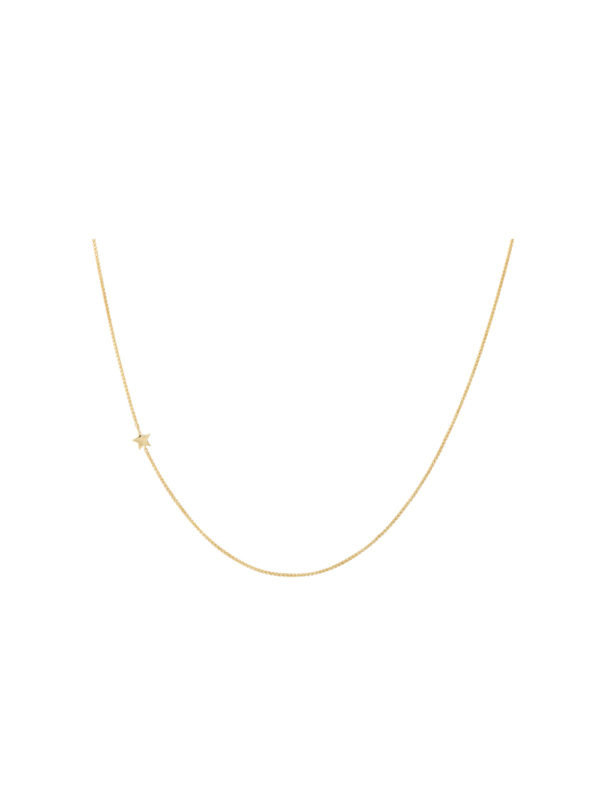 Anna + Nina Stellar Necklace Long Gold