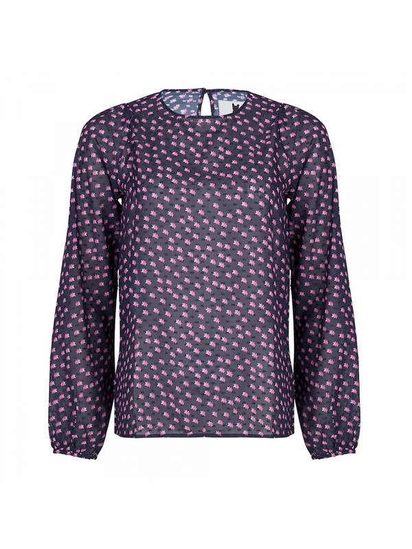 Blake Seven Blouse Manhattan Dark Blue