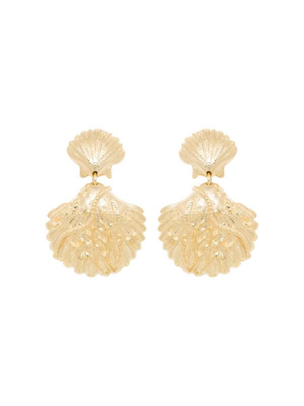 Anna + Nina Venus Earring Gold