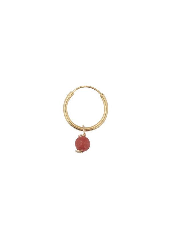 Bobby Rose Little Coral Earring Gold
