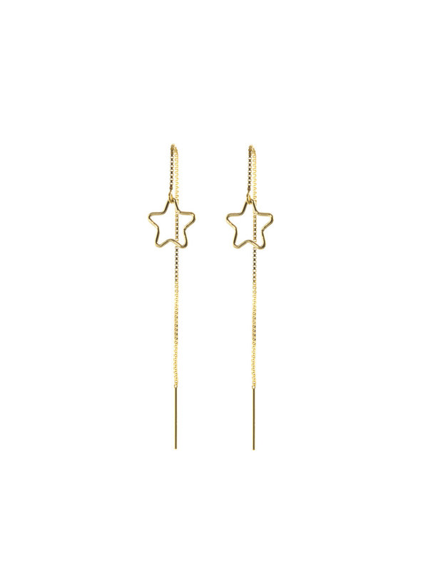Blinckstar Earring Earthreader Star Gold