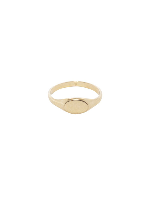 Bobby Rose Seal Ring Gold