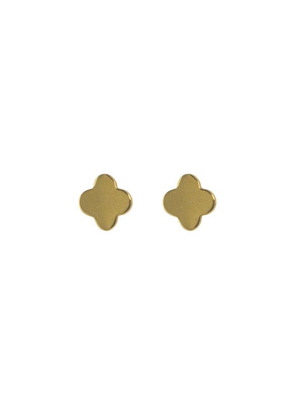 Blinckstar Earring Stud Clover Gold