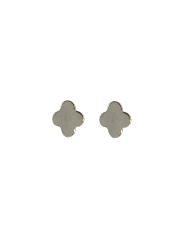 Blinckstar Earring Stud Clover Silver