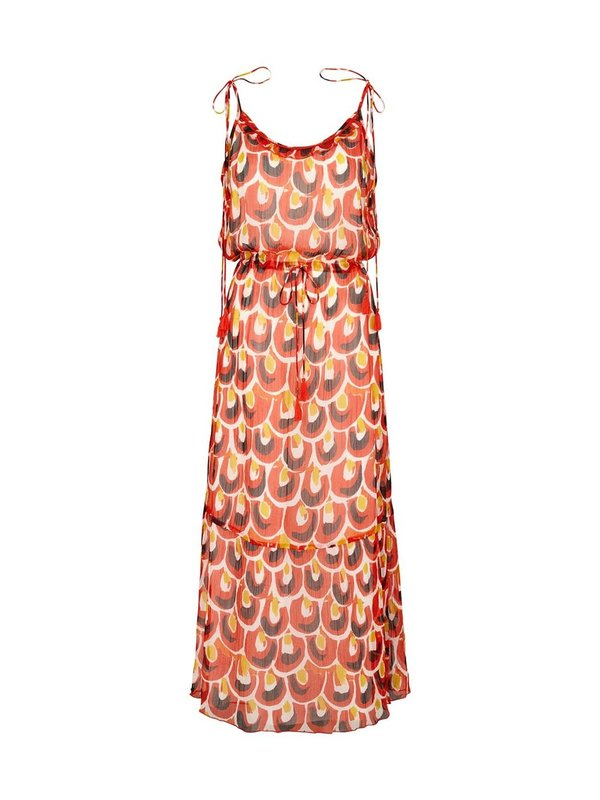 Moliin Doris Dress Spicy Orange
