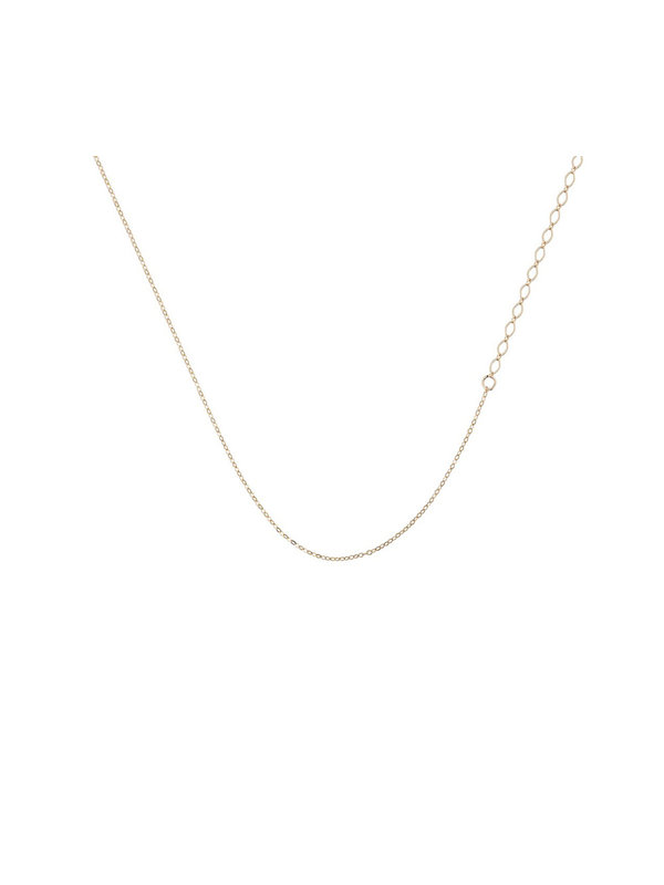 Bobby Rose Mix Oval Necklace Gold
