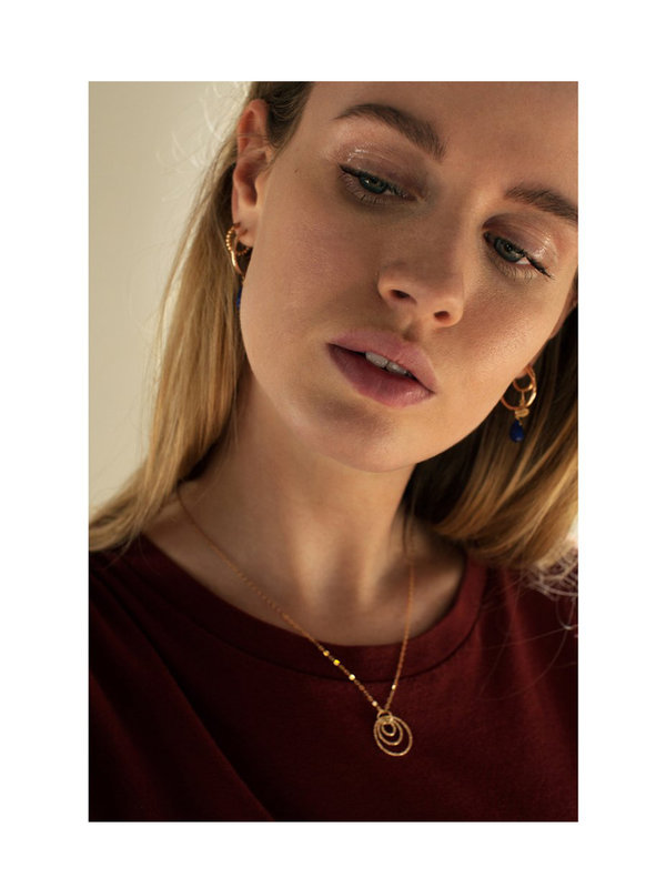 Bobby Rose Infini Necklace Gold