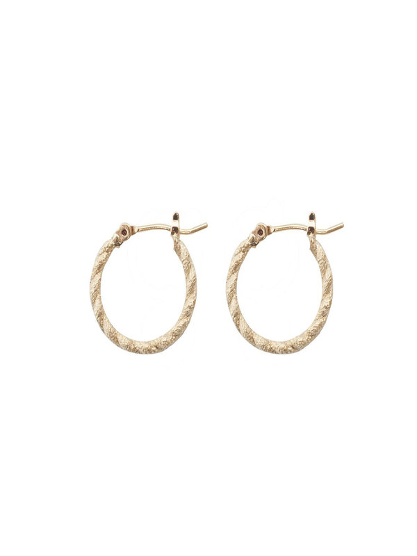 Bobby Rose Twisted Earring