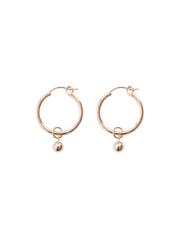 Bobby Rose Classic Earring Lucky Ball Medium