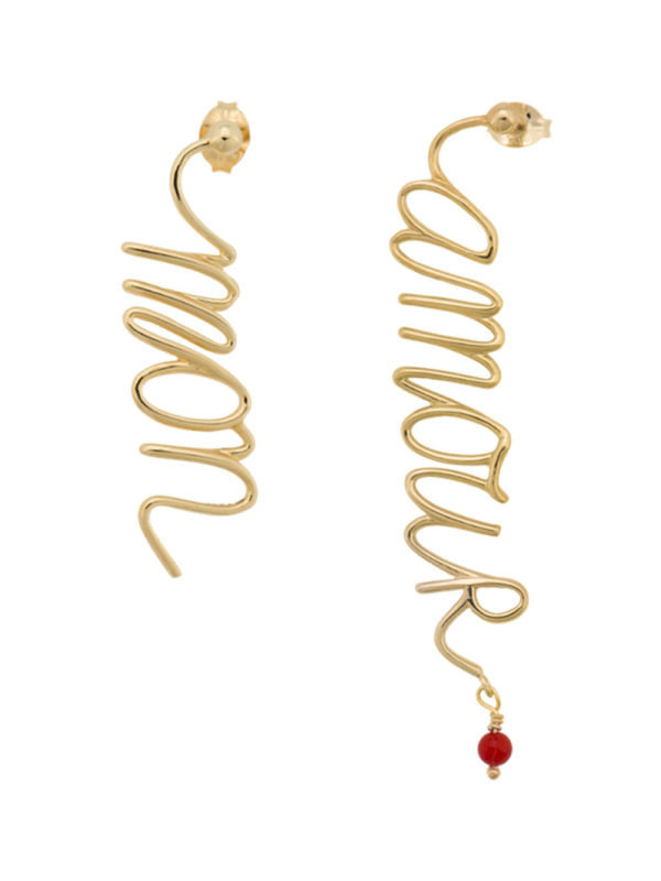 Mon Amour Earring Gold
