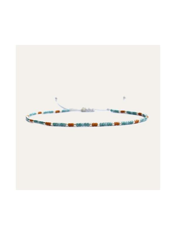 Lobi Beads Armband Miyuki Turquoise