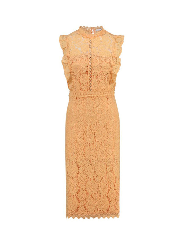 Aaiko Dress Lonne Apricot