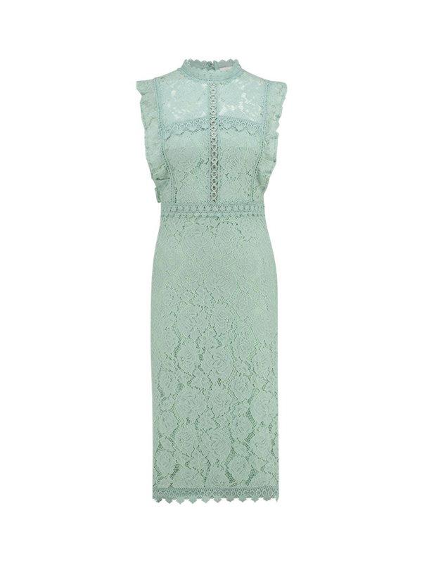Aaiko Dress Lonne Sage Green