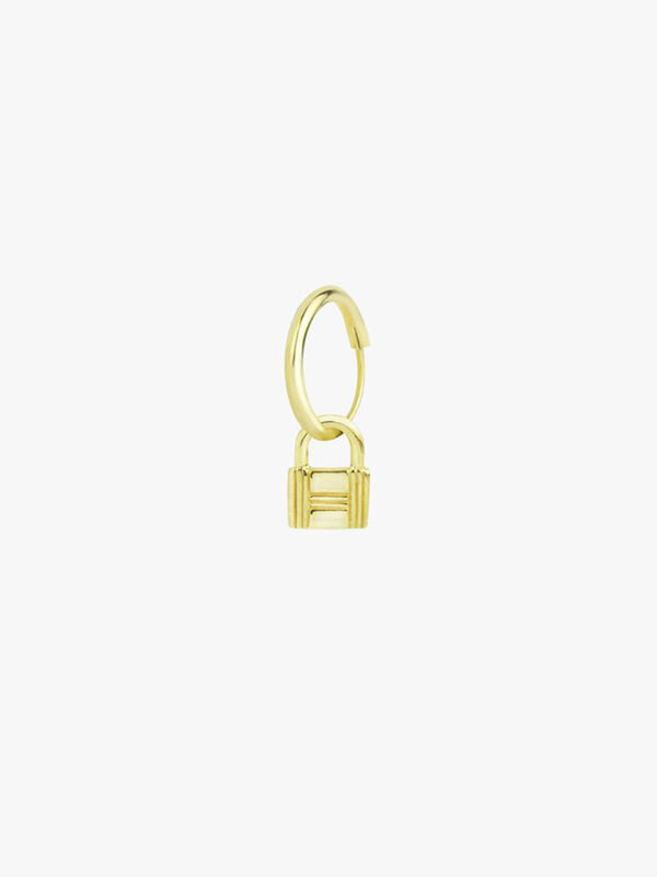 Wildthings Lock Earring Gold