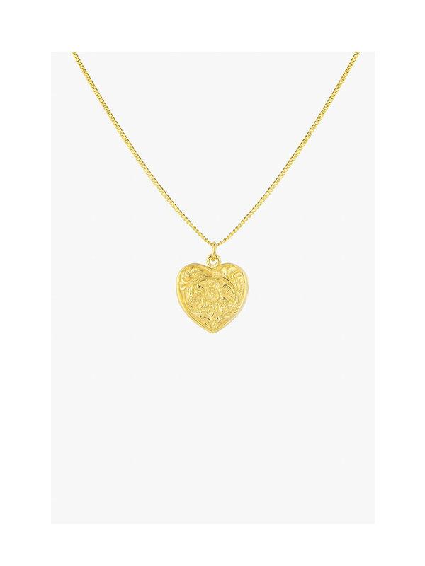 Wildthings Heart Locket Gold