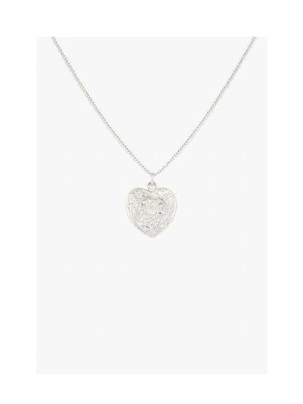 Wildthings Heart Locket Silver