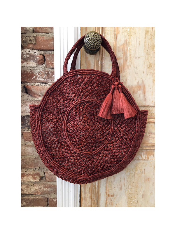 The Jacksons Beach Bag Lola Red