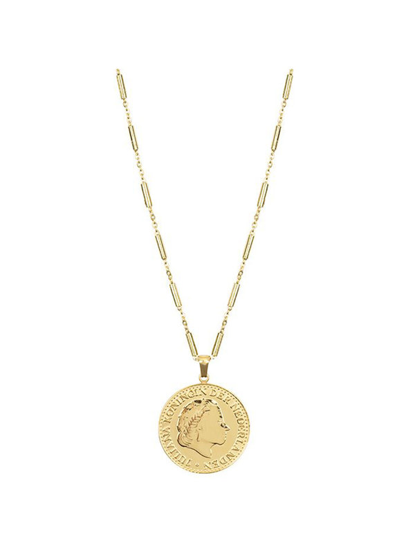 My Jewellery Gulden Necklace Long Gold