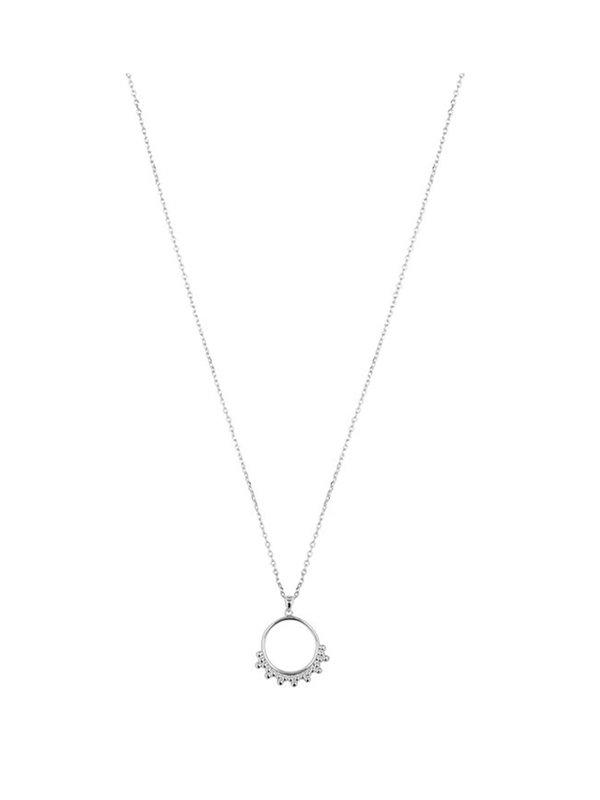 My Jewellery Tiny Dot Necklace Silver