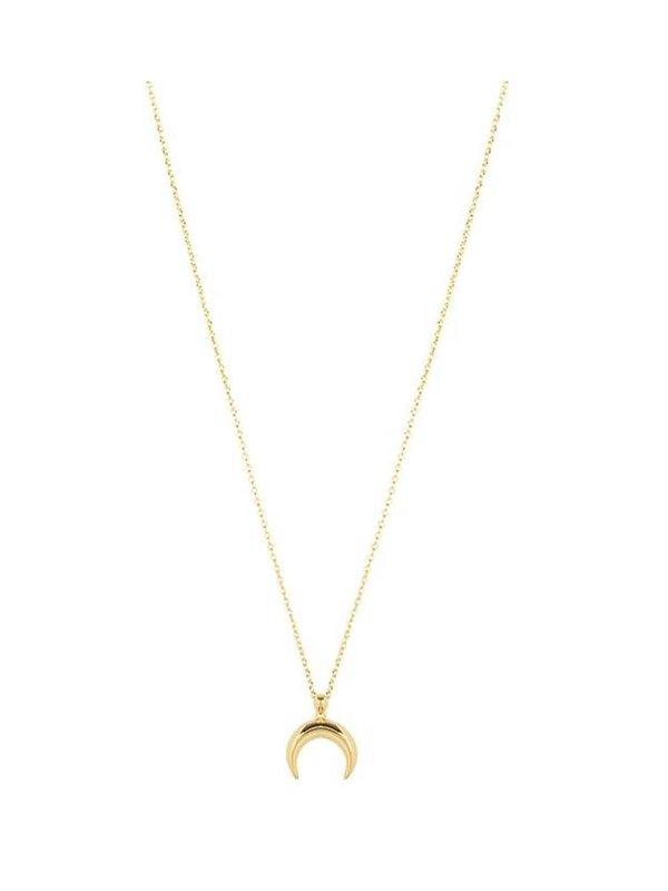 My Jewellery Half Moon Necklace Gold