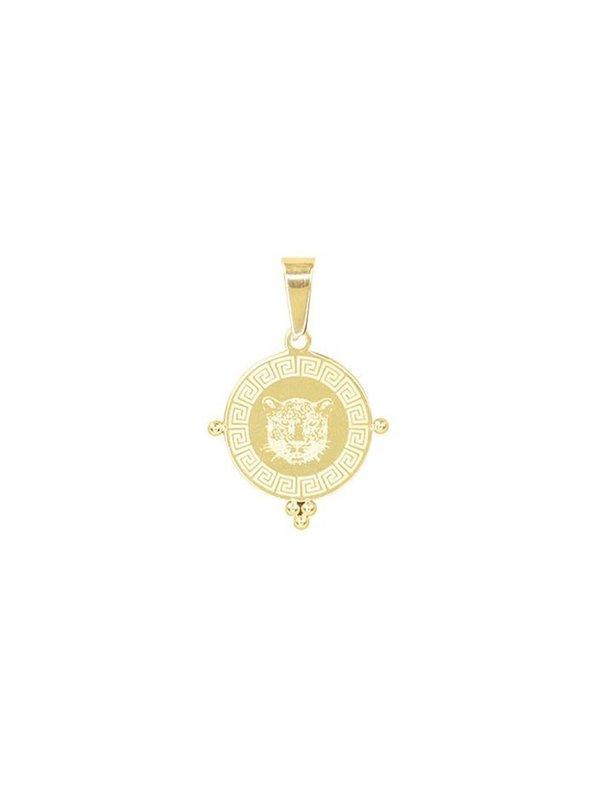 My Jewellery Leopard Head Charm Gold