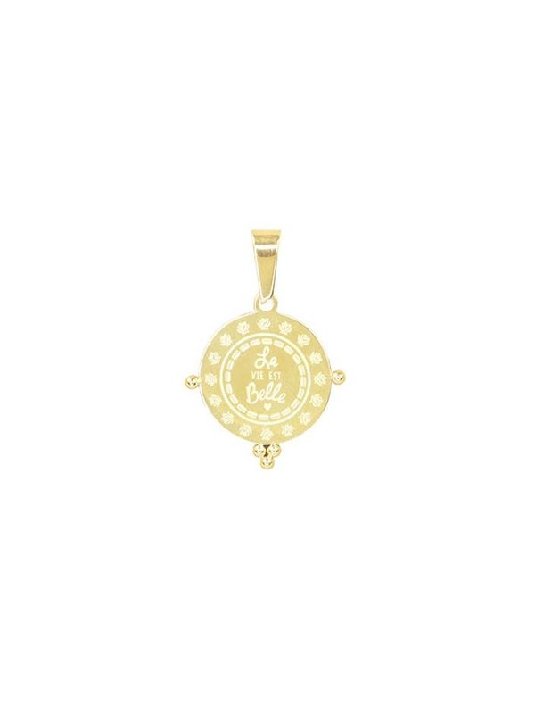 My Jewellery La Vie Est Belle Charm Gold