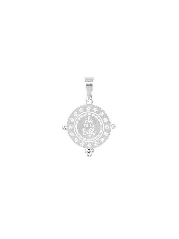 My Jewellery La Vie Est Belle Charm Silver