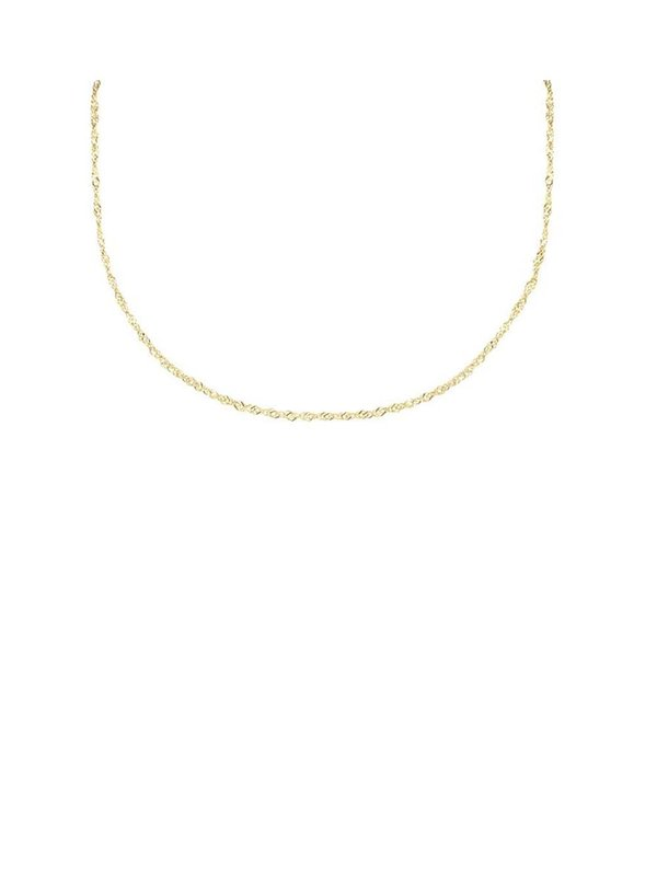 My Jewellery Twisted Chain Short Gold