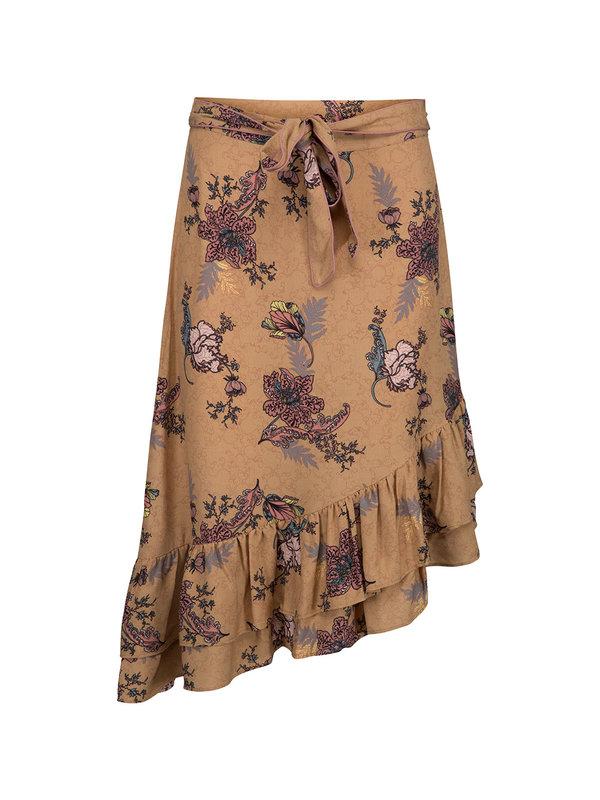 Sofie Schnoor Skirt Flowers Brown