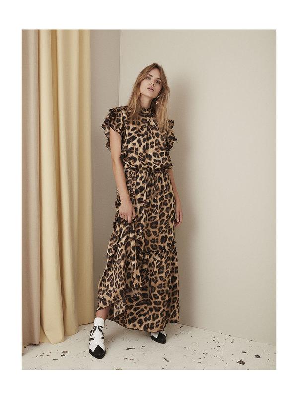 Sofie Schnoor Dress Leopard Brown