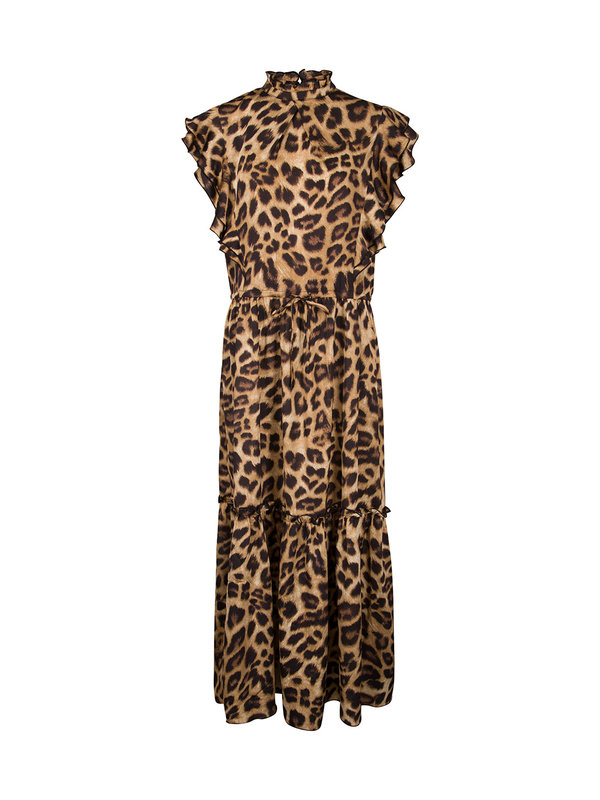Sofie Schnoor Dress Leopard Brown