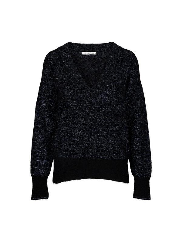 Sofie Schnoor Sweater Glitter Dark Blue