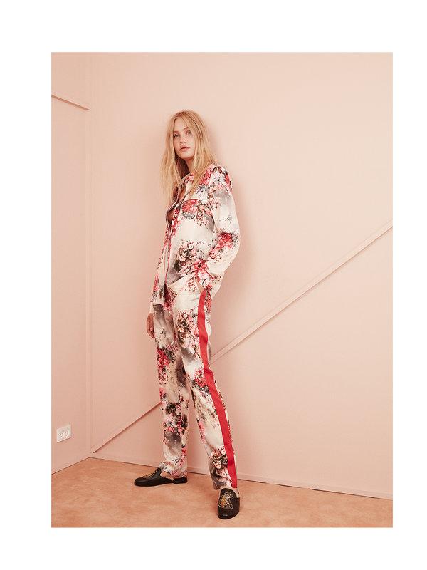Sofie Schnoor Flower Printed Pants