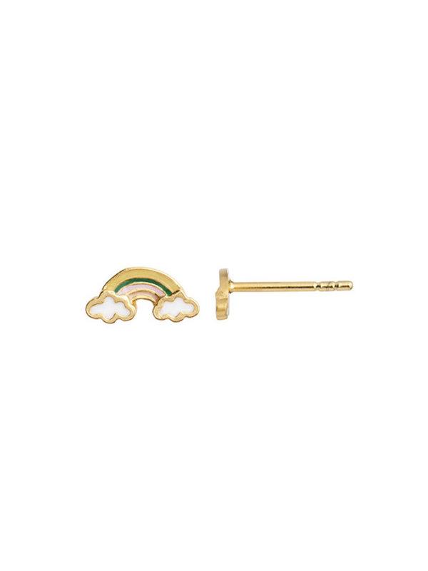 Stine A Love Rainbow Earring Enamel Gold