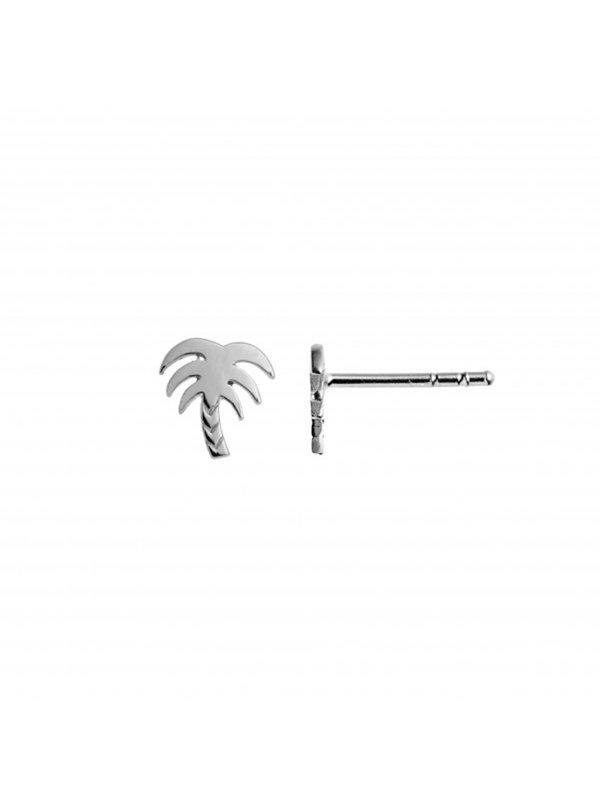 Stine A Petit Palmtree Earring Silver