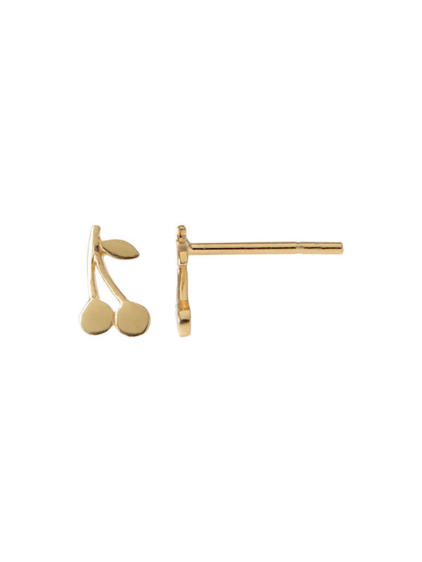 Stine A Petit Cherry Earring Gold