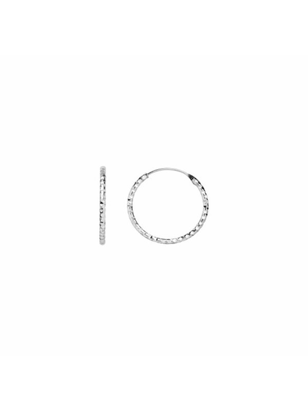 Stine A Tinsel Creol Earring Piece Silver