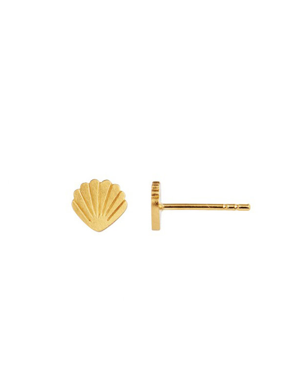 Stine A Petit Shell Earring Gold