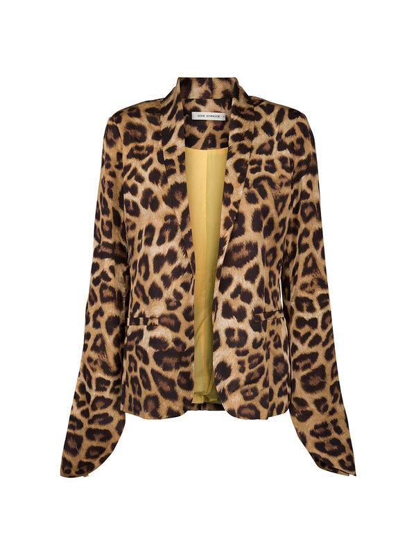 Sofie Schnoor Blazer Leopard Brown