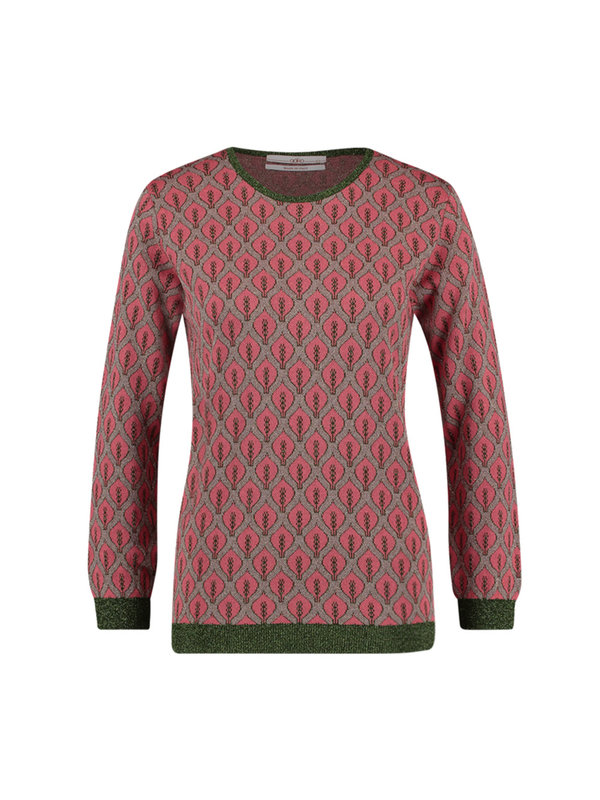 Aaiko Doura Sweater Top Coral